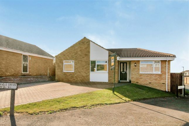 Thumbnail Detached bungalow for sale in Springfield Drive, Bromham, Bedford