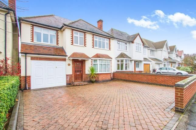 Thumbnail Detached house for sale in Abbots Road South, Leicester, Leicestershire