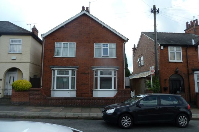Thumbnail Detached house to rent in Greenhill Road, Clarendon Park, Leicester