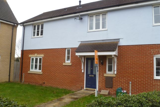 Thumbnail End terrace house to rent in Gratian Close, Highwoods, Colchester