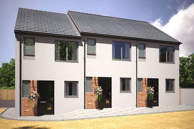 "Thumbnail End terrace house for sale in ""The Elowyn"" at Kerrier Way, Camborne"