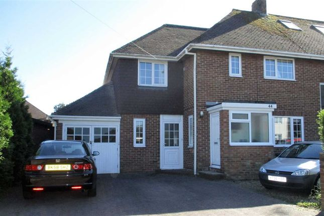 Thumbnail End terrace house for sale in Roman Way, Folkestone