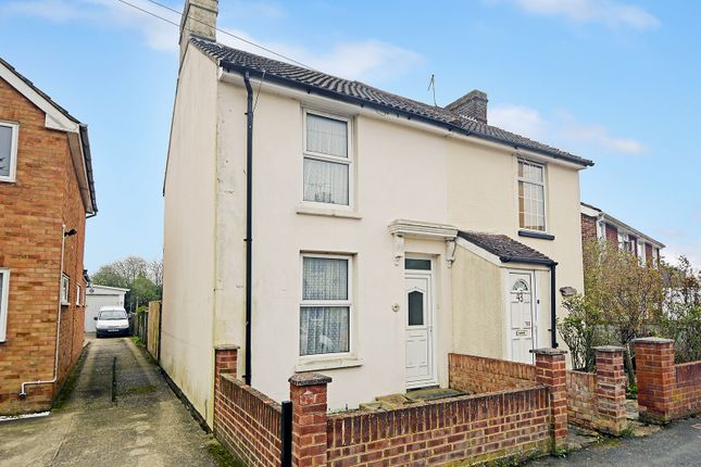 Thumbnail Semi-detached house for sale in Curtis Road, Willesborough, Ashford