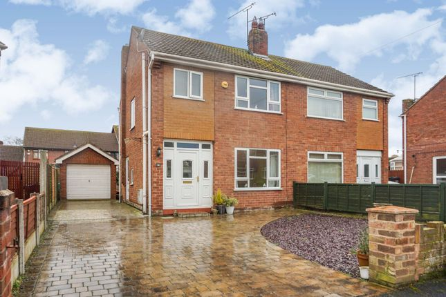 Thumbnail Semi-detached house for sale in St. Georges Crescent, Waverton, Chester