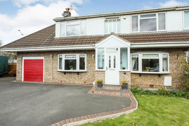 4 bed semi-detached house for sale in Village Close, Lostock Green, Northwich CW9