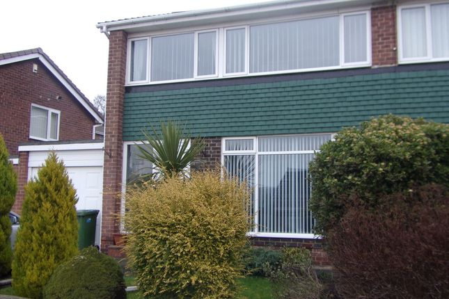 Thumbnail Semi-detached house for sale in Cramond Court, Gateshead