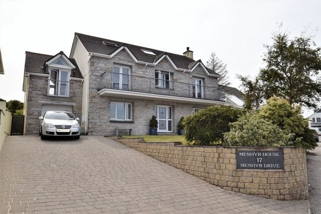 Thumbnail Detached house for sale in Menhyr Drive, Carbis Bay, St. Ives