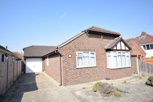 Thumbnail Detached bungalow for sale in Ipswich Road, Holland-On-Sea, Clacton-On-Sea