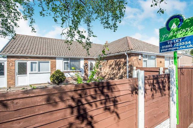 Thumbnail Bungalow to rent in Palm Court, Skelmersdale