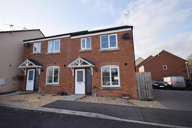 Thumbnail 2 bedroom semi-detached house for sale in Chestnut Park, Kingswood, Wotton-Under-Edge