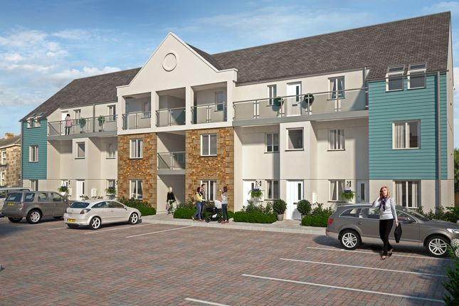 Thumbnail Flat for sale in Chapel Walk Mews, Camborne