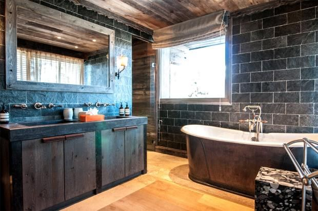 Bathroom of Courchevel 1850, Bellecôte, French Alps, 73120