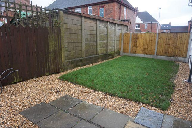 Rear Garden of Hanley Road, Sneyd Green, Stoke-On-Trent ST1