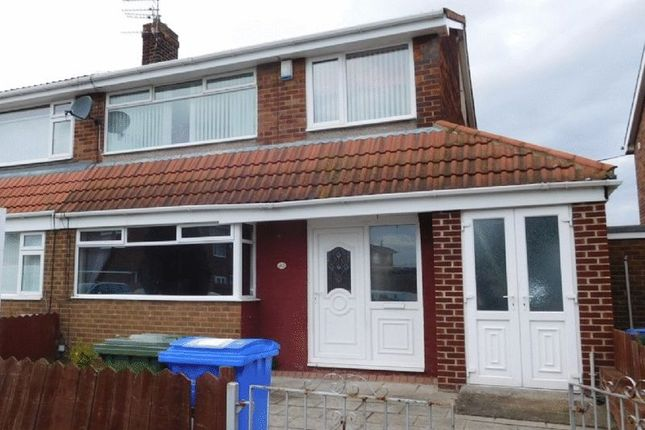 Thumbnail Semi-detached house to rent in Devonworth Place, Blyth