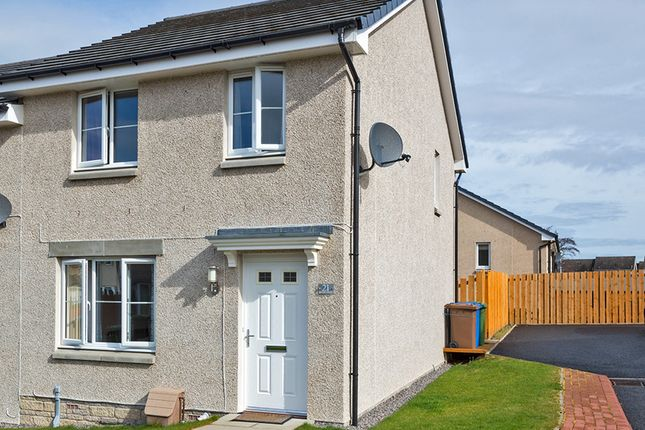 Thumbnail Semi-detached house for sale in Resaurie Gardens, Smithton, Inverness