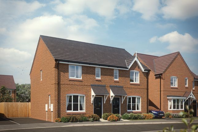 Thumbnail Semi-detached house for sale in New Street, Rushall, Walsall