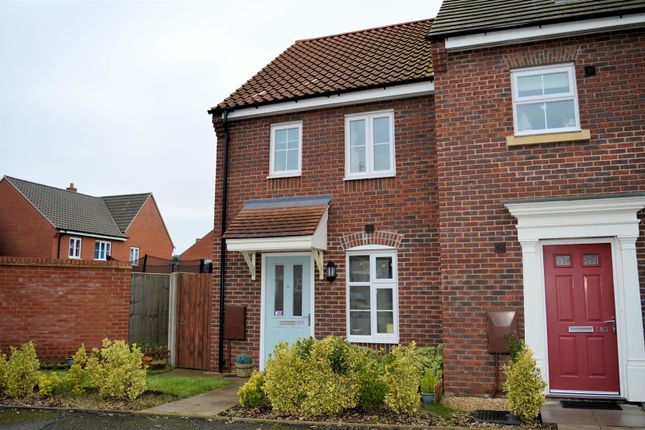 Thumbnail End terrace house for sale in Fred Ackland Drive, King's Lynn