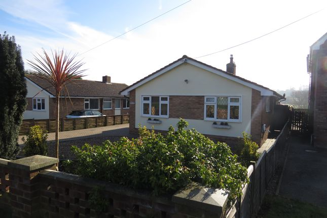 Thumbnail Detached bungalow for sale in Wrabness Road, Ramsey, Harwich
