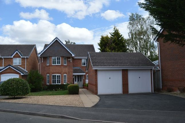 Thumbnail Detached house for sale in Brockwood Copse, Shawbirch, Telford, Shropshire