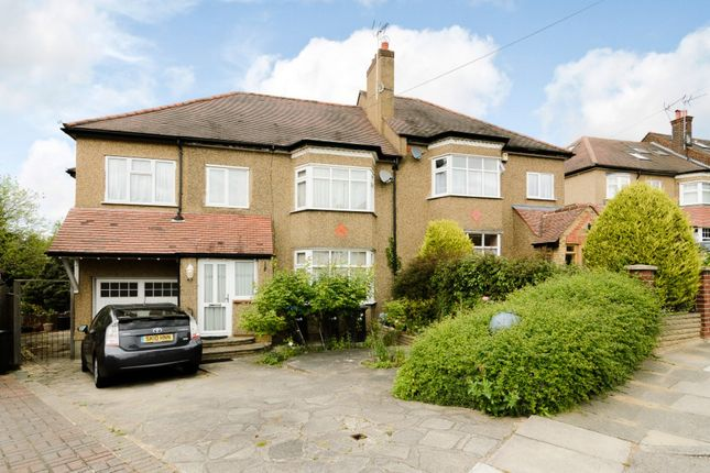 Thumbnail Semi-detached house for sale in Park Way, Enfield, London