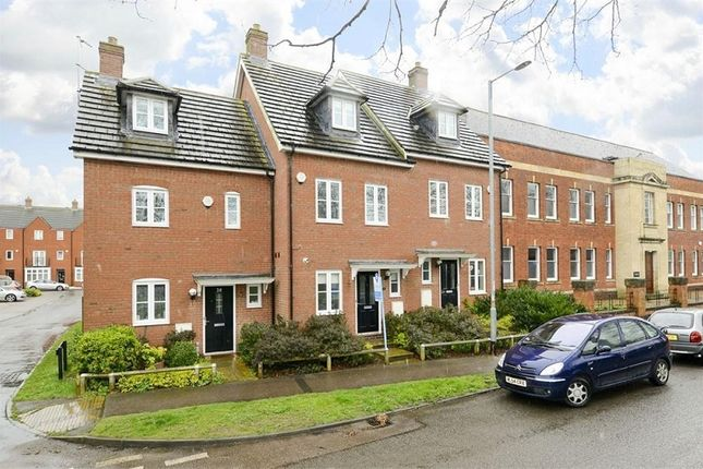 Thumbnail Town house for sale in Midland Road, Higham Ferrers, Rushden, Northamptonshire.