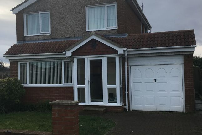 Thumbnail Detached house to rent in Kielder Close, Blyth