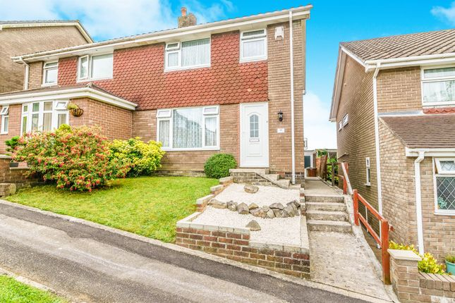 Thumbnail Semi-detached house for sale in Cherry Park, Plympton, Plymouth