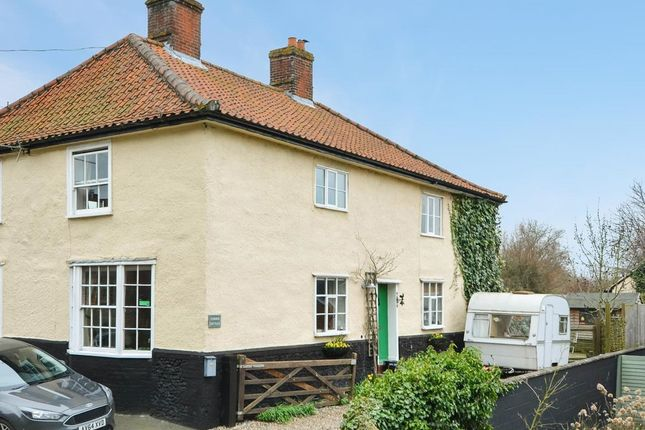 Thumbnail Semi-detached house for sale in West Church Street, Kenninghall, Norwich