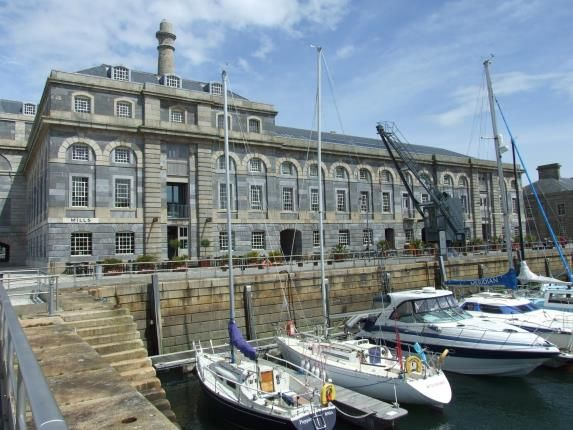 Thumbnail Flat for sale in Stonehouse, Plymouth, Devon