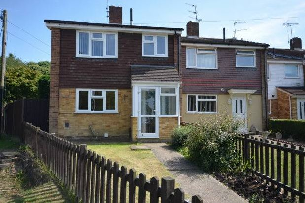 Thumbnail End terrace house to rent in Mierscourt Road, Gillingham