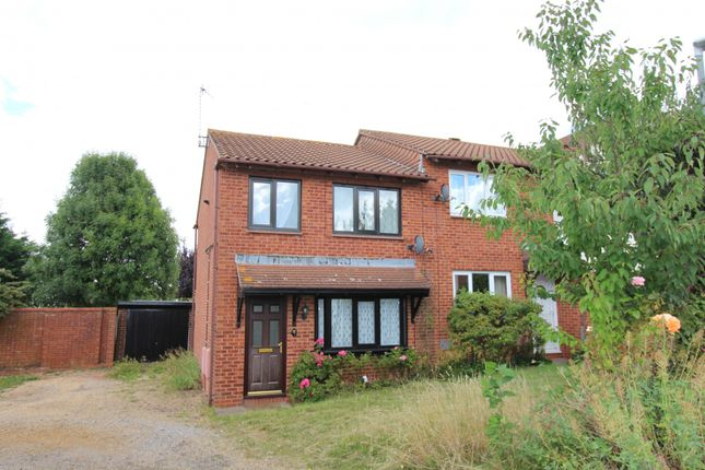 Thumbnail Semi-detached house to rent in Challacombe, Milton Keynes