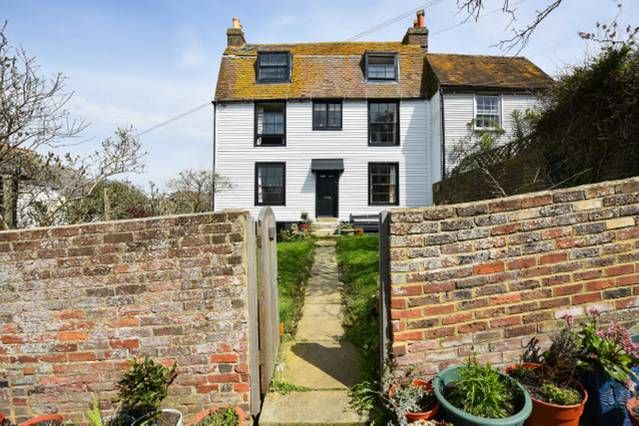 Thumbnail Semi-detached house for sale in Woods Passage, Hastings Old Town