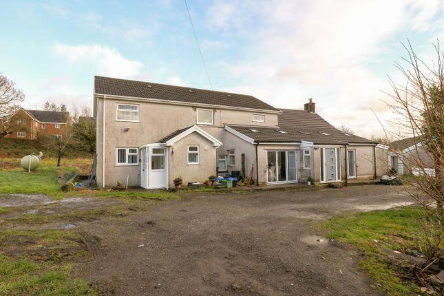 Thumbnail Detached house for sale in Trebeddau Farm, Twynyrodyn, Merthyr Tydfil