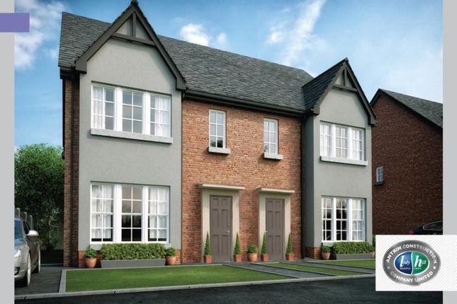 Thumbnail Semi-detached house for sale in Drumford Meadow, Kernan Hill Road, Portadown