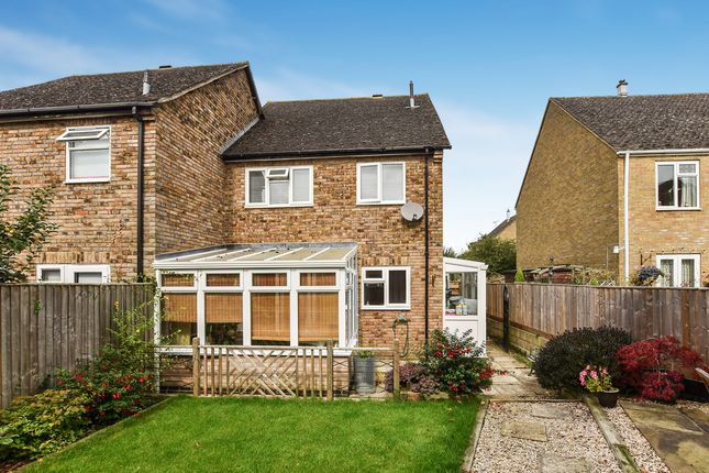Thumbnail End terrace house for sale in Chaundy Road, Tackley, Kidlington