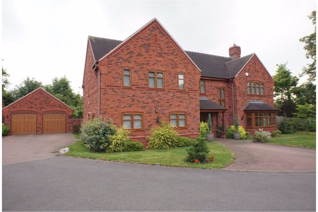Thumbnail Detached house for sale in Clayton Drive, Lichfield