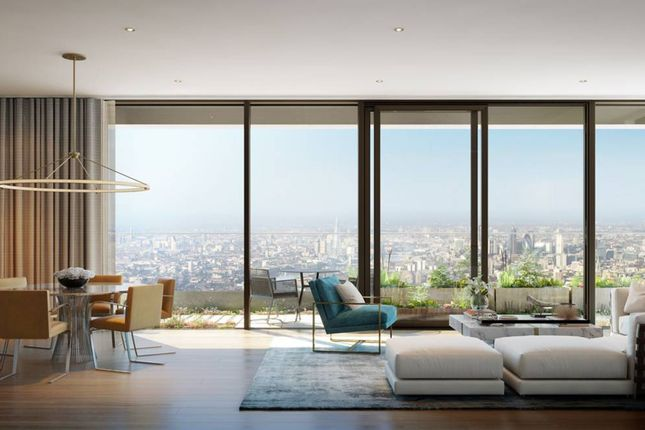 Thumbnail Flat for sale in Wardian London, Canary Wharf, Canary Wharf