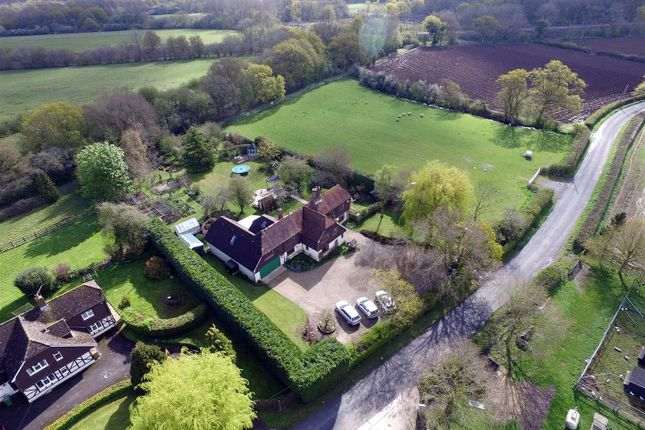 Thumbnail Detached house for sale in Cufaude Lane, Bramley, Tadley