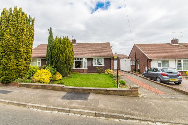 Thumbnail Semi-detached bungalow to rent in Lincoln Green, Brunton Park, Gosforth