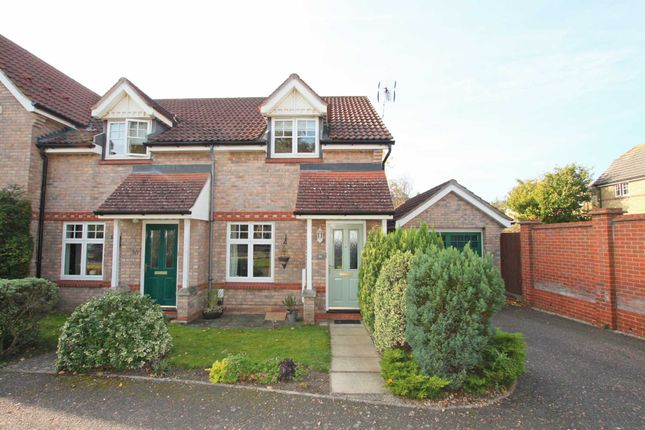 Thumbnail End terrace house to rent in Heasman Close, Newmarket