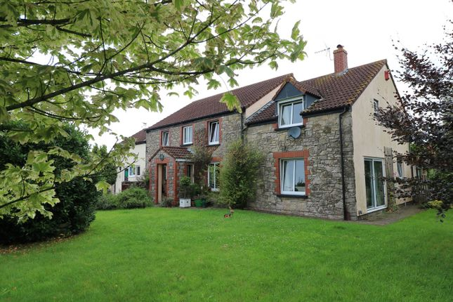 Thumbnail Detached house for sale in North Row, Magor, Caldicot