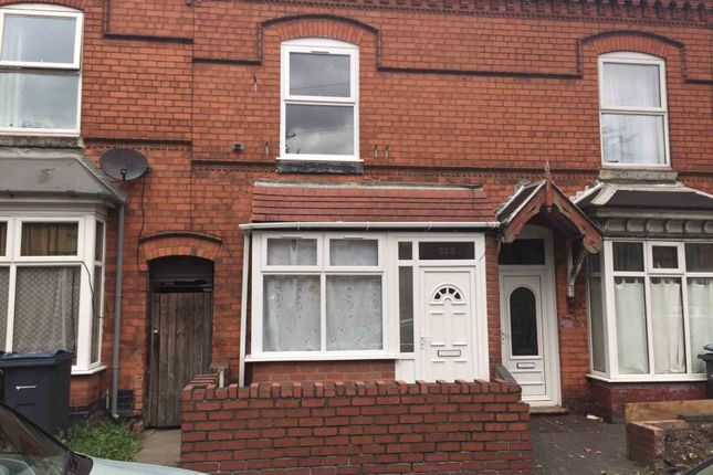 Thumbnail Terraced house to rent in Bordesley Green, Birmingham