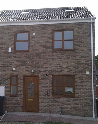 Thumbnail Town house to rent in Vicars Croft, Brotherton, Knottingley