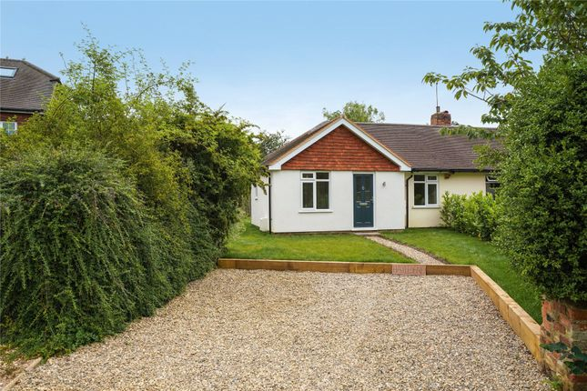Thumbnail Bungalow for sale in Surrey Gardens, Effingham Junction, Leatherhead, Surrey