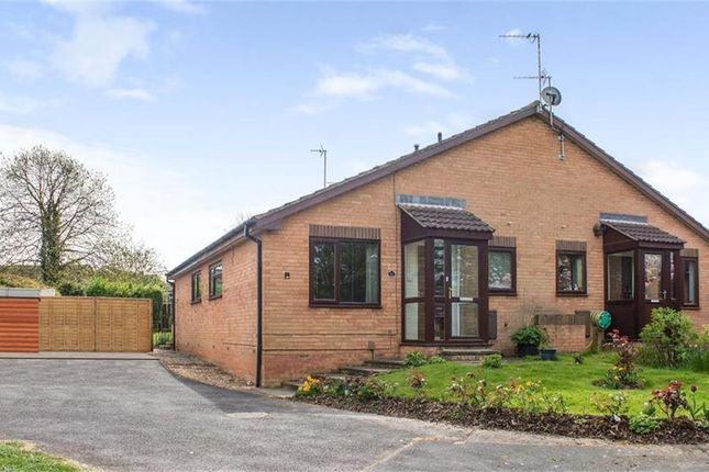 Thumbnail Semi-detached bungalow for sale in Arbury Dale, Shepshed, Loughborough