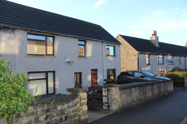 Thumbnail Semi-detached house for sale in Quoybanks Crescent, Kirkwall, Orkney