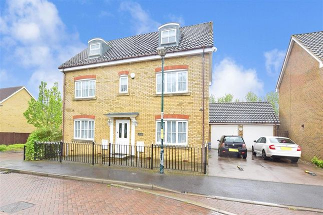 Thumbnail Detached house for sale in Bogarde Drive, Wainscott, Rochester, Kent