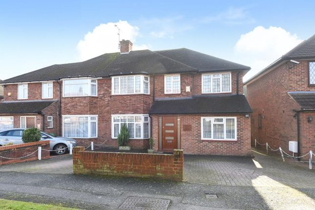Thumbnail Semi-detached house for sale in Edgware, Middlesex HA8,