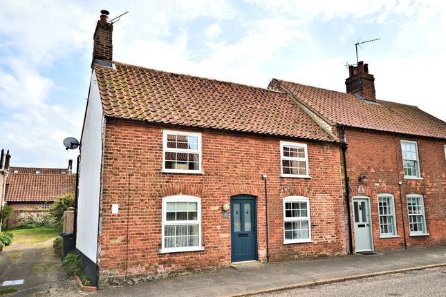 Thumbnail End terrace house for sale in Polstede Place, North Street, Burnham Market, King's Lynn