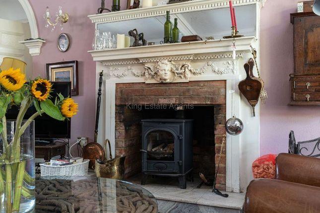 Fireplace of High Street, Olney, Buckinghamshire MK46